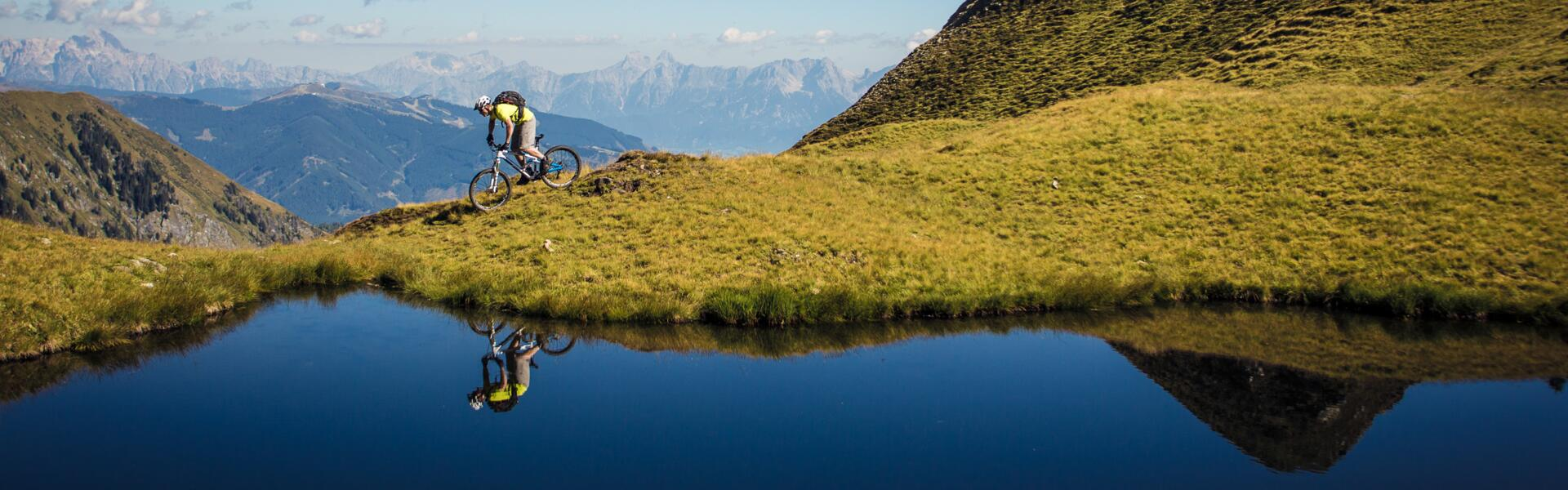 mountainbiking kaprun holiday