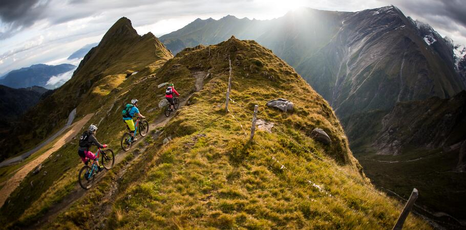 summer holiday mountainbiking kaprun