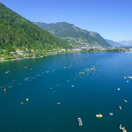 swim route ironman zell am see-kaprun