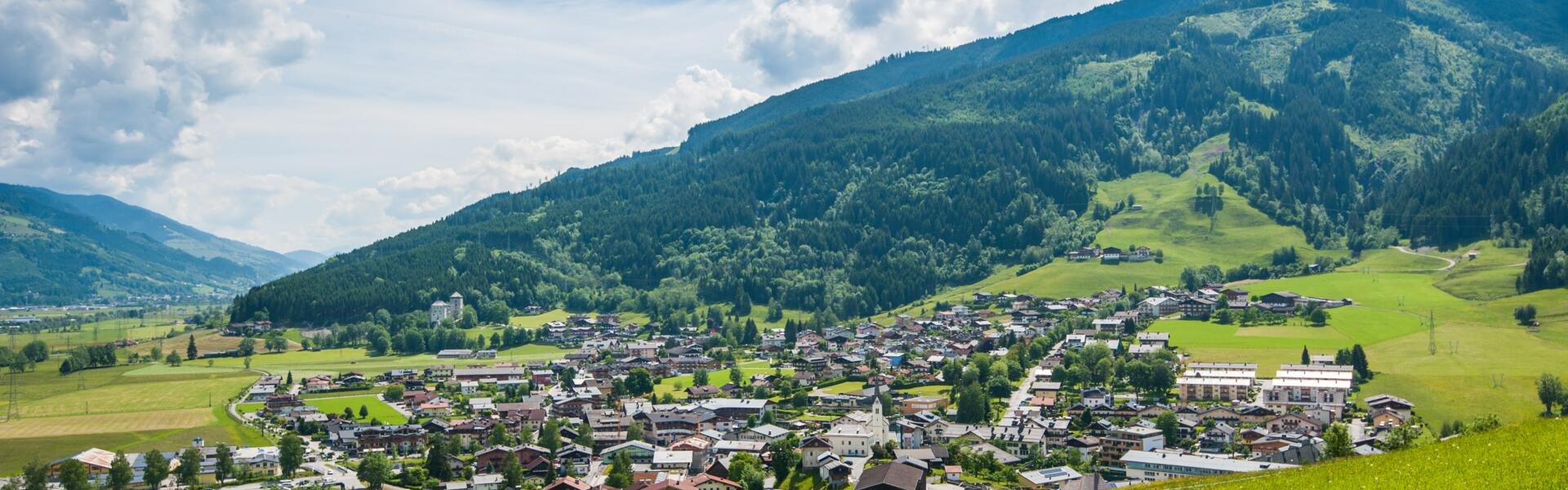 kaprun summer village view