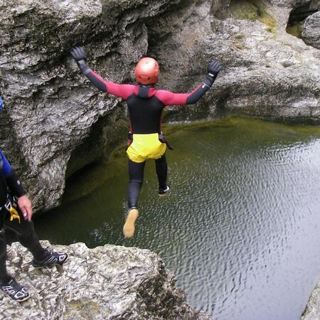 canyoning adventure holiday salzburg