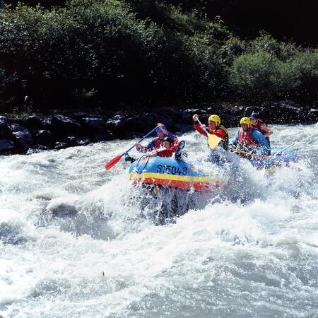 summer holiday kaprun rafting