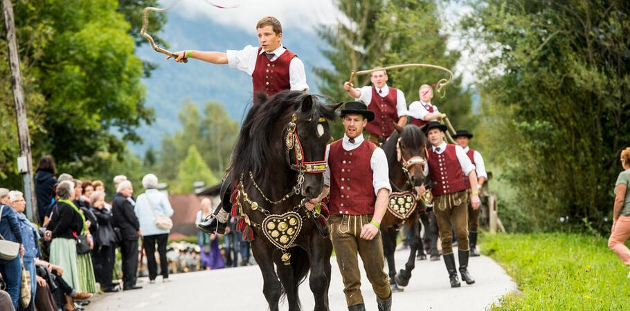 traditional event kaprun