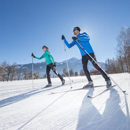 skating cross-country-skiing kaprun